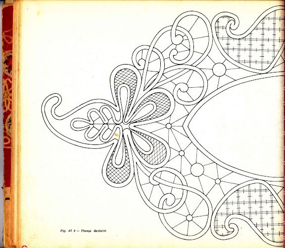 Romanian Point Lace template
