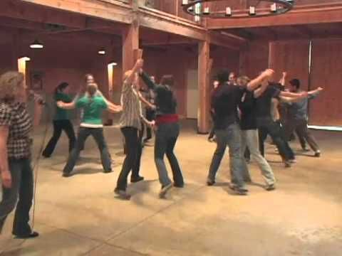 Barn Dance-Heel Toe Polka.mov - YouTube