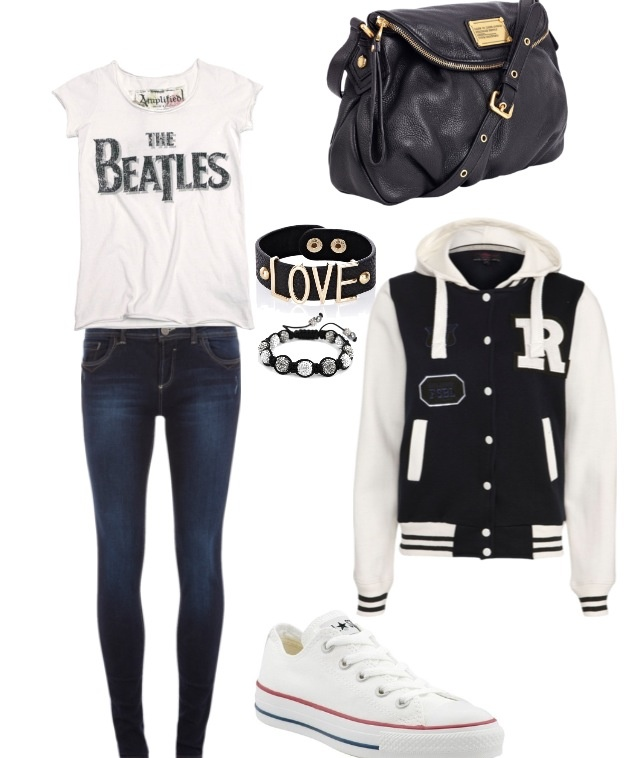 Find and save ideas about Varsity jacket outfit on Pinterest. | See more ideas about Varsity jackets, Letterman jacket outfit and Black letterman jacket. Cute outfit with the letterman jacket the aritzia tna letterman jacket is haunting me, fyi. A beautiful outfit for school and college girls. Cropped skinny jeans, a plaid shirt a bomber.