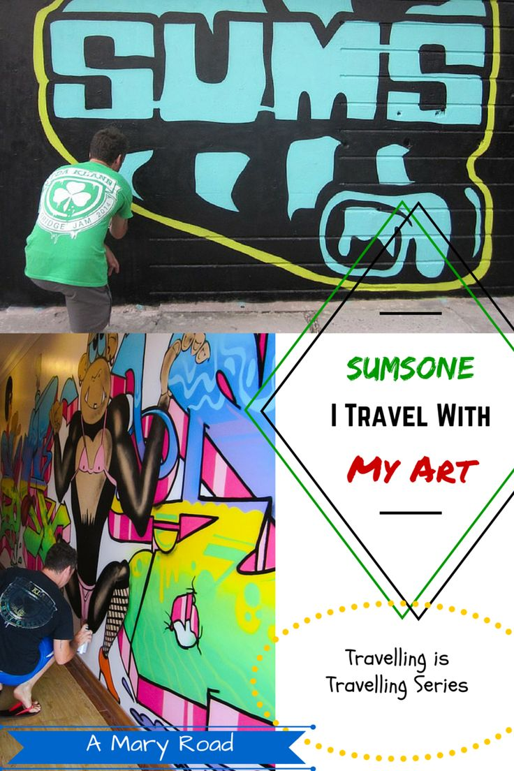 The travelling artist Sums