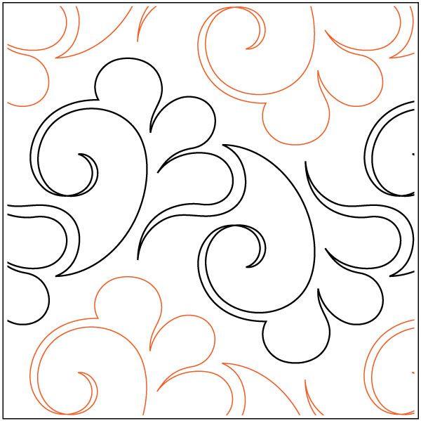 Longarm Quilting Design Art