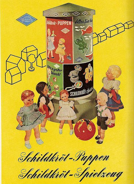 1954 Schildkrötpuppen   Flickr - Photo Sharing!