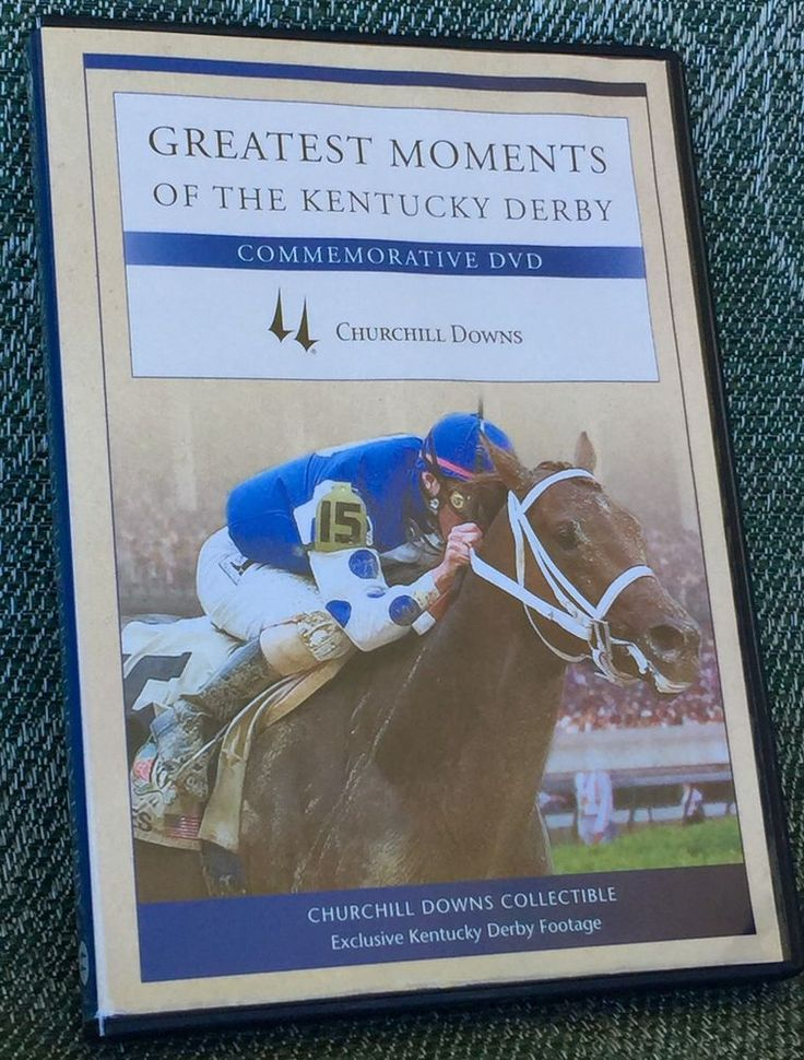 Greatest Moments of The Kentucky Derby Commemortive DVD Churchhill Downs 2006 | eBay