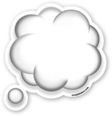 Thought Balloon | Emoji Stickers