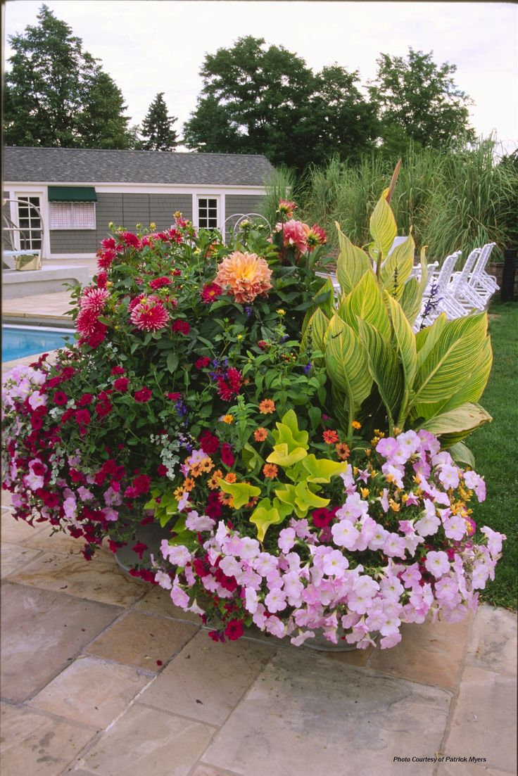 Container Garden at Denver Country club 43