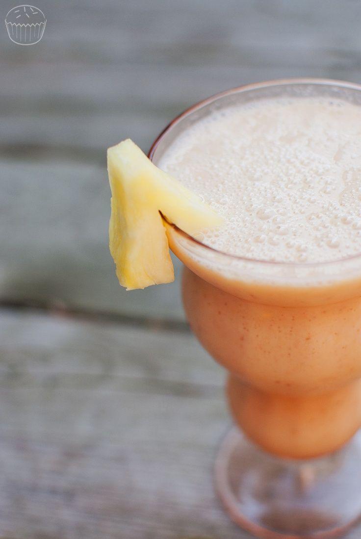 Pineapple Banana Orange Smoothie. | Ahm Num Num | Pinterest