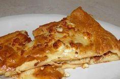 Γρήγορη ζυμαρόπιτα με γιαούρτι. Είναι γρήγορη , λεπτή, τραγανή και σκέτη απόλαυση!