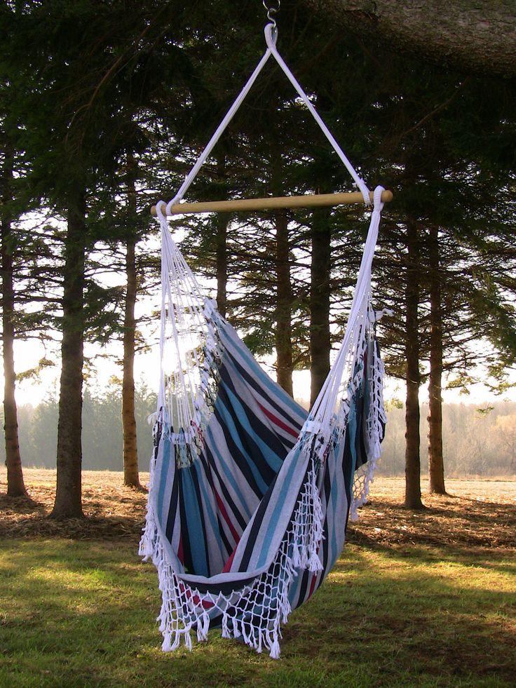 I want one!!  Vivere Hammocks Brazilian Hammock Chair