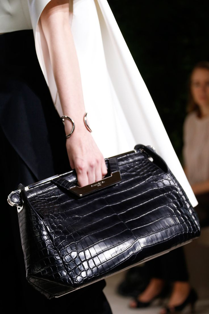 Loving the clutch bags at Balenciaga Spring 2014 RTW #pfw