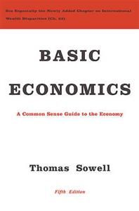 In this fifth edition of Basic Economics, Thomas Sowell revises and updates his popular book on common sense economics, bringing the world into clearer focus through a basic understanding of the fundamental economic principles and how they explain our lives. Drawing on lively examples from around the world and from centuries of history, Sowell explains basic economic principles for the general public in plain English. Basic Economics, which has now been translated into six languages and has…