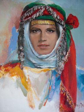Ressam Remzi İren - Ege türkmen 55-46.