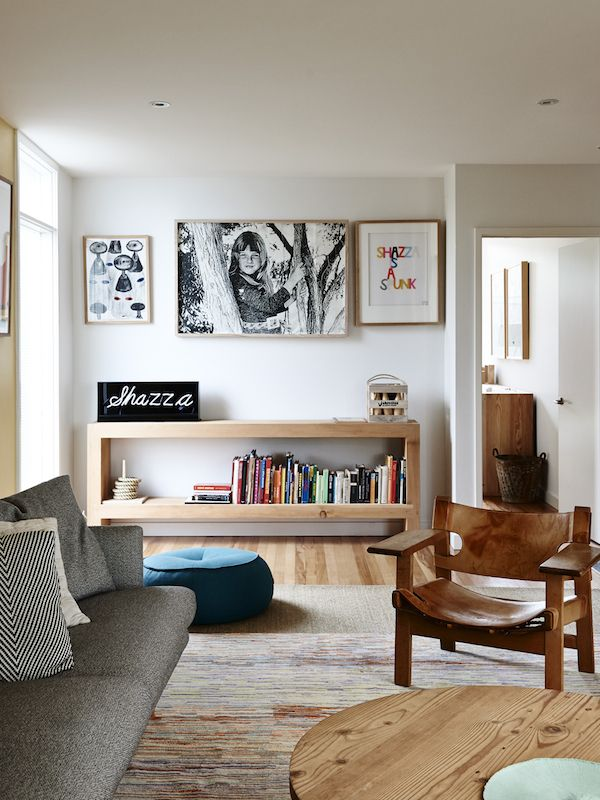 The Ashwood home of Sam Johnson and his family.  Photo – Eve Wilson. Production – Lucy Feagins/@thedesignfiles