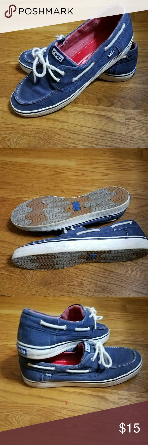 Keds Boat Shoes Keds Boat Shoes  Like new, worn very few times Size 11 but run big that's why I didn't wear them Keds Shoes Flats & Loafers