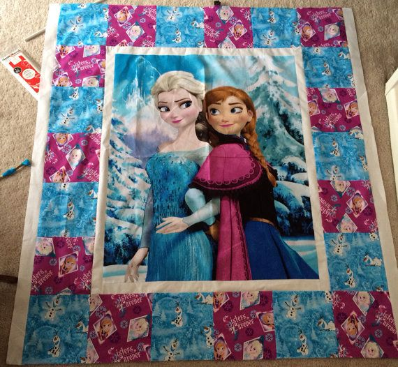 Hello Kitty Quilt//character quilt//frozen by LittleBugDesigns17, $60.00