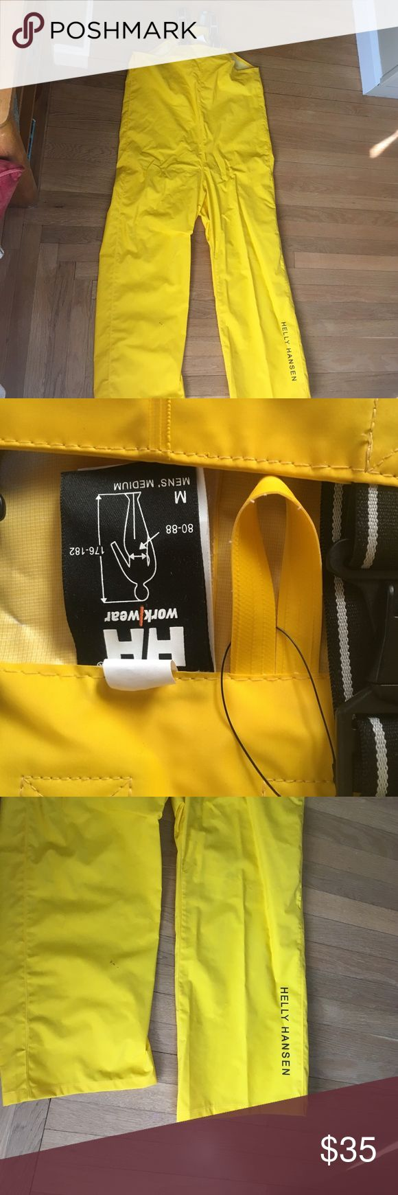 Helly Hansen waterproof overall work bib Suit made with 100%Polyvinyl chloride, with adjustable suspenders Helly Hansen Other