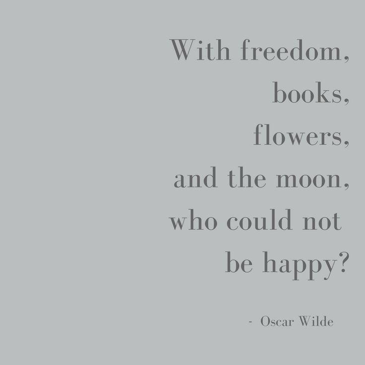 Words of wisdom from Oscar Wilde ✨