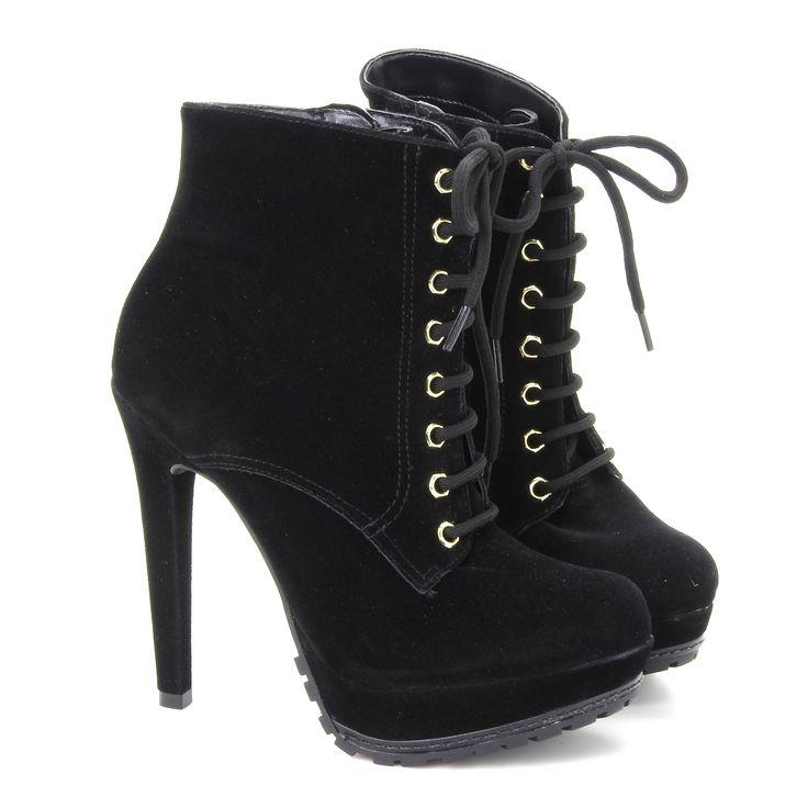 boots - botas - bota de cano curto - bota de salto - winter - Inverno 2016 - Ref. 16-7302