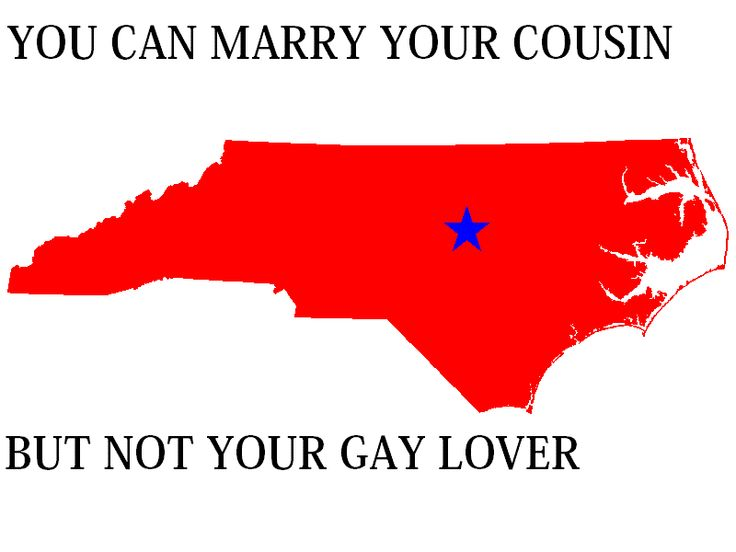 maryland same sex marriage law text in North Carolina