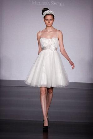 My Reception Dress  Reverie by Melissa Sweet - Amalfi