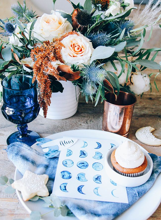 'Over The Moon' Baby Shower – Inspired by This