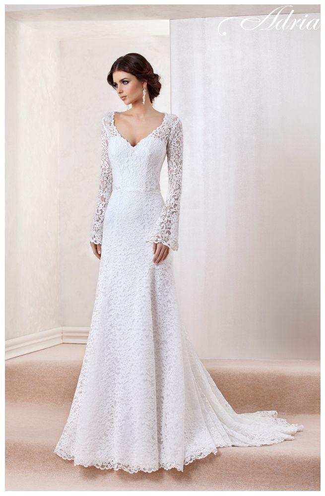 1509 - Suknie Ślubne Adria