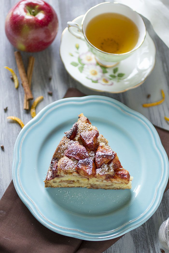 Beet: A dainty afternoon with loose-leaf tea and spiced #Apple #Cake ...