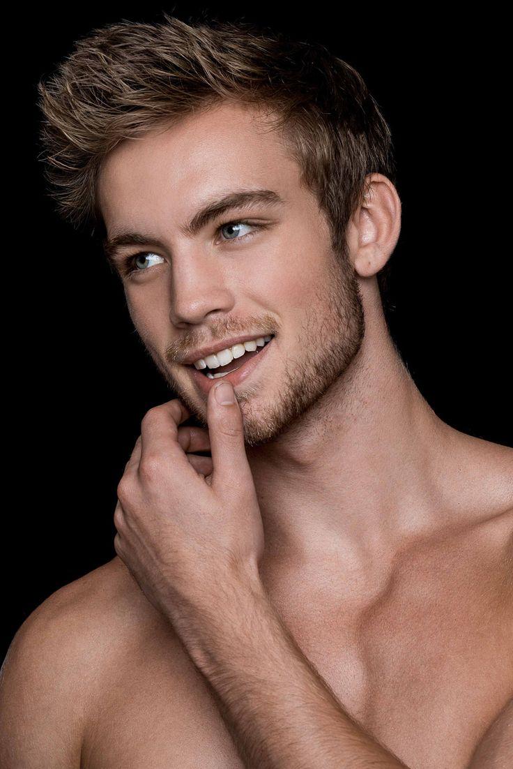 Hot guy models naked