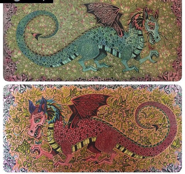 Johanna Basford Owl Enchanted Forest Coloring 1 Jardim Secreto Floresta Encantada Reino Animal