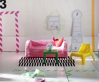 Ikea komt met mini-meubels voor poppenhuis