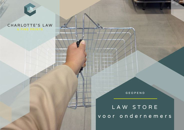 Charlotte's Law Store - juridische webwinkel voor ondernemers
