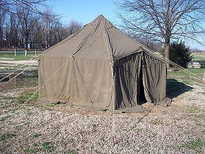 Not So Glamping Military Tent Gp Small Hunting Army