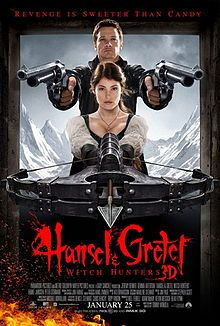 Hansel and Gretel Witch Hunters - fairy tale as paranormal action flick!