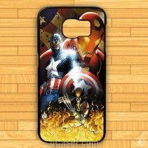 Avanger Captain America Poster image Samsung Cases