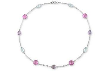 Great gem necklace.Gem Necklaces, Gemstone Necklace, Gemstones Necklaces