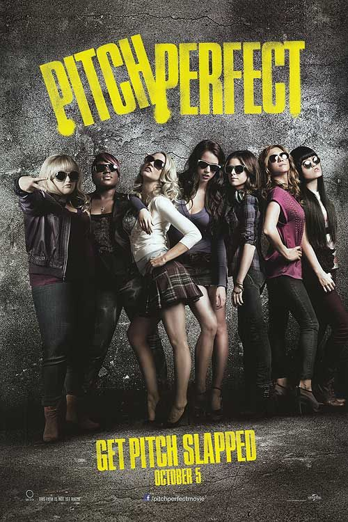 """""""Pitch Perfect."""" My crush on Anna Kendrick continues! This was a great movie - the parodies on Glee were great, the actors were likeable, and the singing was great (if you enjoy a capella)!"""