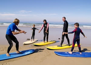 Take a lesson at the Surf School Newquay