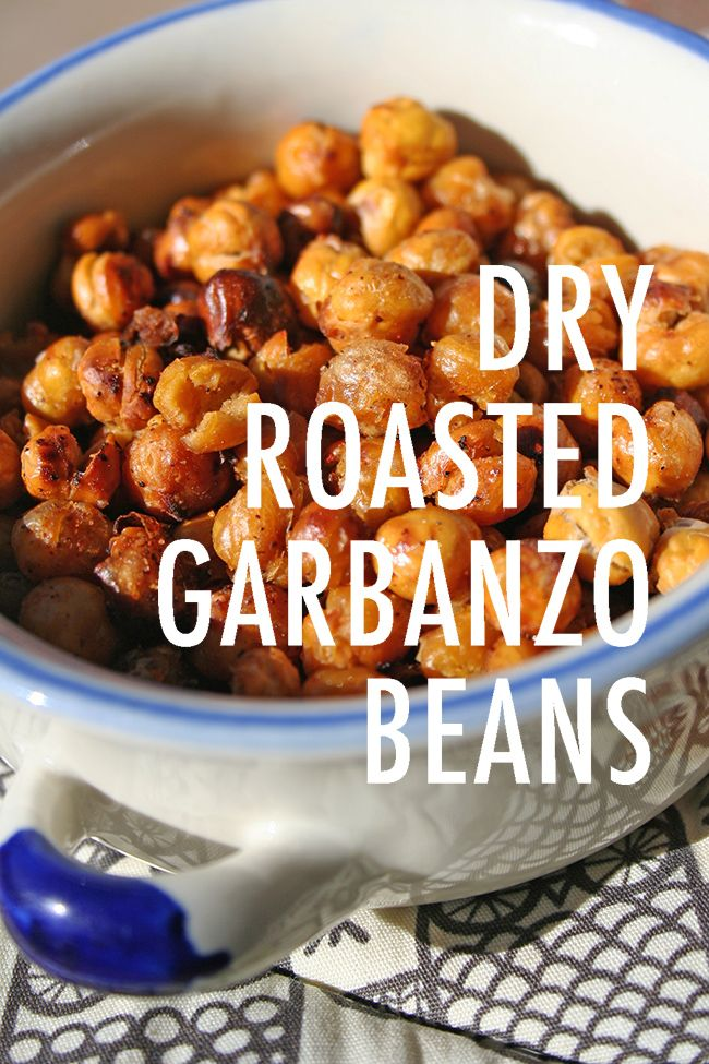 A Salty, Satisfying Snack: Dry Roasted Garbanzo Beans - The Craftsy Blog