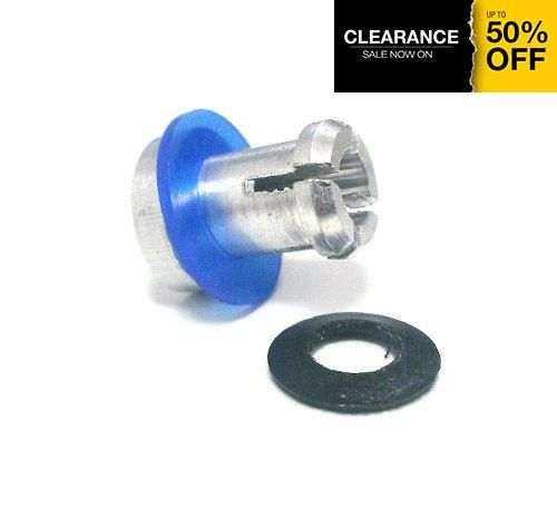 #wow #Prestige Deluxe Safety Valve with Blue and Black Rubber Rings - Genuine Replacement part for Prestige Pressure Cookers.