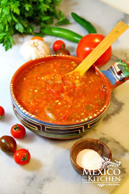 Small Garden tomatoes salsa recipe