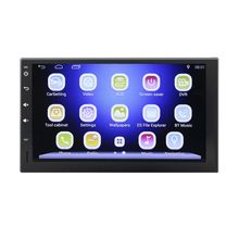 2 Din 7″ Android 4.4.4 HDTouch Screen 1024*600 Car DVD Player GPS Quad Core Camera Car Stereo Mp5 DVD Player with Bluetooth WIFI