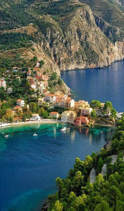 Kefalonia - 5 Amazing Travel Destinations in the Ionian Sea of Greece. I'd love to travel to this spot!! :)