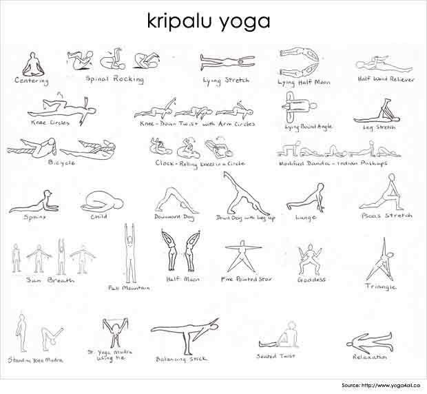 Different types of yoga kripalu-yoga
