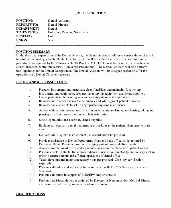 Dental Office Manager Resume Example Sample Template Dentist Teeth Cv Job Description Project Manager Resume Free Resume Examples Resume Skills