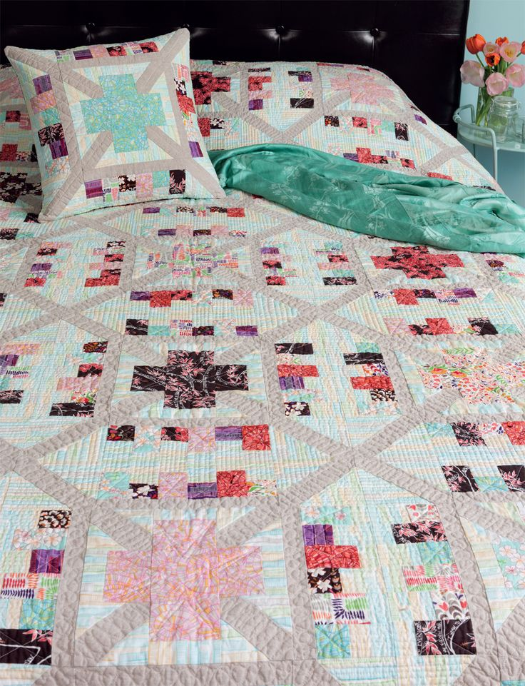 423 best crosses and losses images on Pinterest   Patchwork ... : block by block quilting - Adamdwight.com