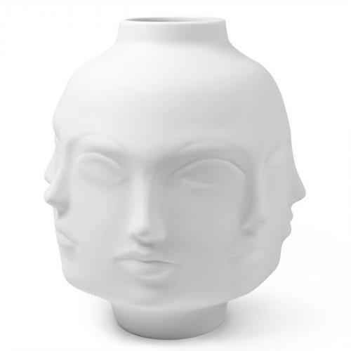 Giant Dora Maar Vase 34cm, weiß von Jonathan Adler