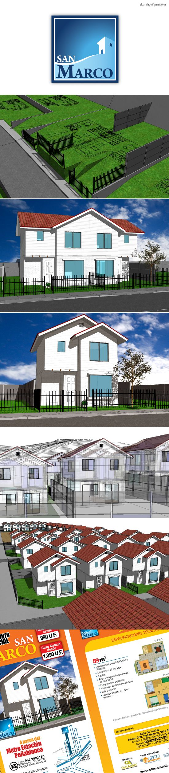 2008 / San Marco Project on Behance #3D #design #sketchup