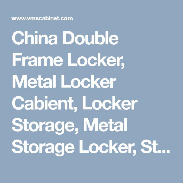 China Double Frame Locker, Metal Locker Cabient, Locker Storage, Metal Storage Locker, Steel Storage Lccker,  Storage Locker For Sale,  Henan Vimasun Industry Co.,Ltd.
