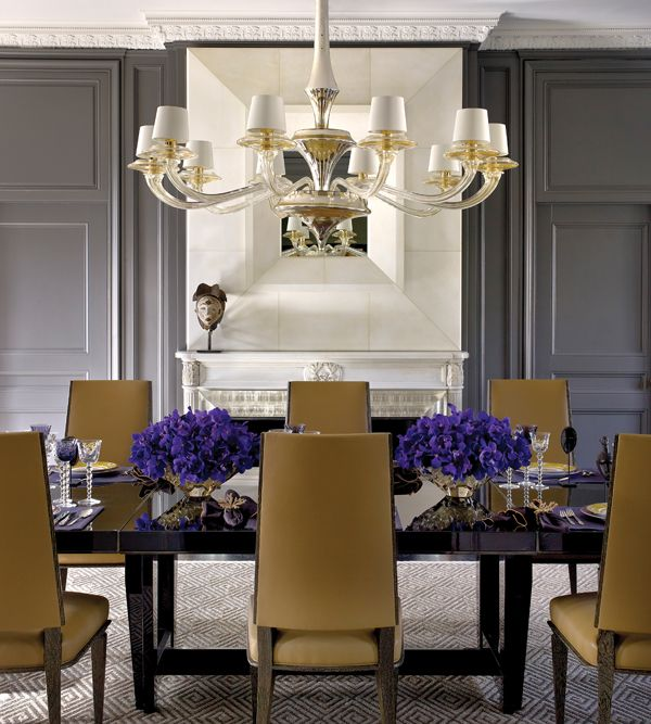 11 Best Images About Gold Amp Gray Dining Rooms On Pinterest