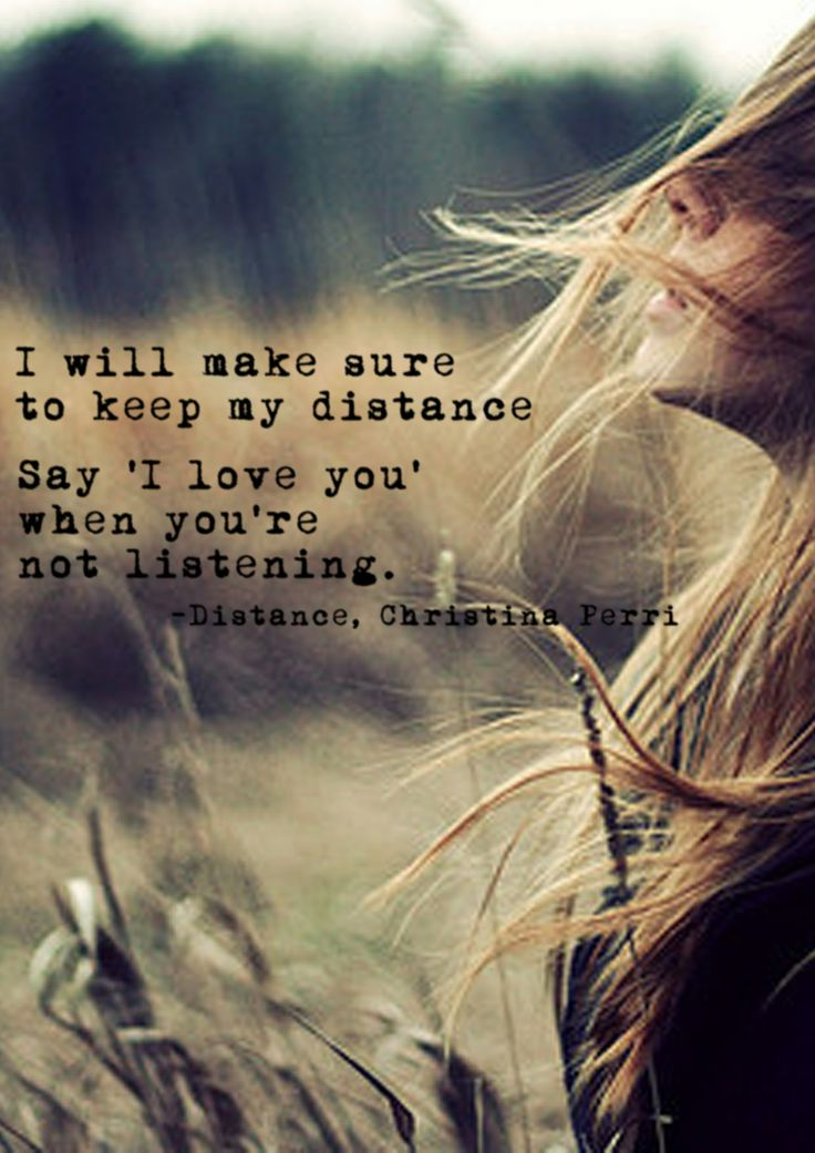 Distance by Christina Perri