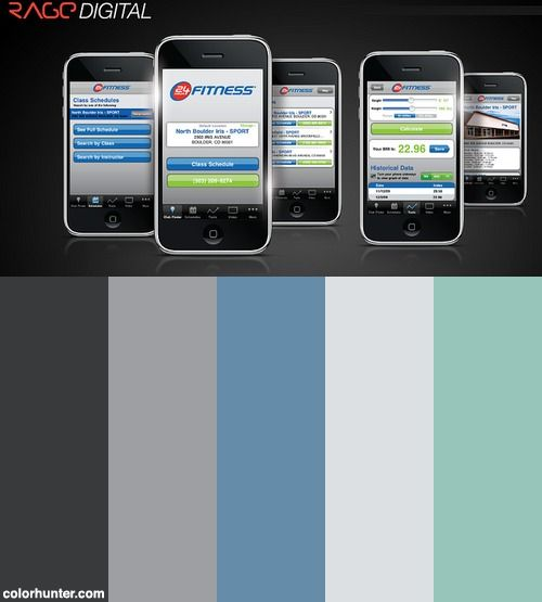 Rage Digital - 24hour App Color Scheme